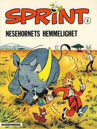 Cover Thumbnail for Sprint [Sprint & Co.] (Interpresse, 1977 series) #8 - Nesehornets hemmelighet
