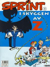 Cover Thumbnail for Sprint (Semic, 1986 series) #3 - I skyggen av Z