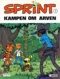 Cover Thumbnail for Sprint (Semic, 1986 series) #7 - Kampen om arven
