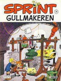 Cover Thumbnail for Sprint (Semic, 1986 series) #14 - Gullmakeren [2. opplag]