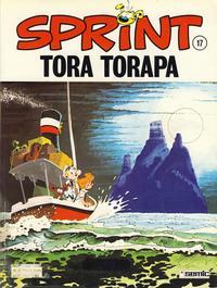 Cover Thumbnail for Sprint (Semic, 1986 series) #17 - Tora Torapa [2. opplag]