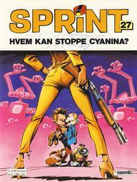 Cover Thumbnail for Sprint (Semic, 1986 series) #27 - Hvem kan stoppe Cyanina? [2. opplag]