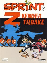 Cover Thumbnail for Sprint (Semic, 1986 series) #31 - Z vender tilbake