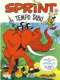 Cover Thumbnail for Sprint (Semic, 1986 series) #32 - Tempo Tabu