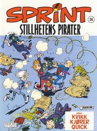 Cover Thumbnail for Sprint (Semic, 1986 series) #36 - Stillhetens pirater