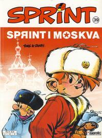 Cover Thumbnail for Sprint (Semic, 1986 series) #39 - Sprint i Moskva