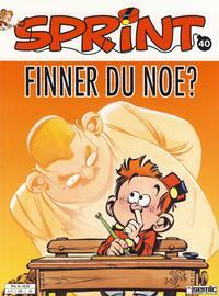 Cover Thumbnail for Sprint (Semic, 1986 series) #40 - Lille Sprint Finner du noe?