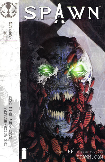 Cover for Spawn (Image, 1992 series) #166 [Brian Haberlin Cover]