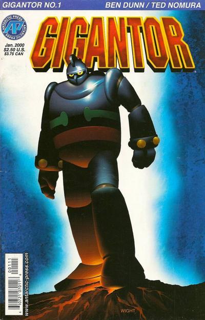 Cover for Gigantor (Antarctic Press, 2000 series) #1