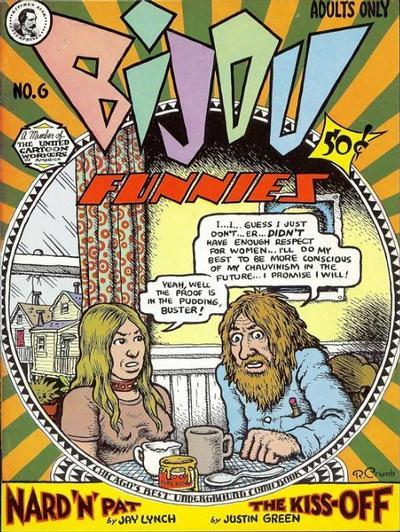 Cover for Bijou Funnies (Kitchen Sink Press, 1972 series) #6