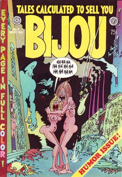 Cover for Bijou Funnies (Kitchen Sink Press, 1972 series) #8
