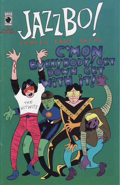 Cover for Jazzbo!: Comics That Swing (Slave Labor, 1994 series) #1