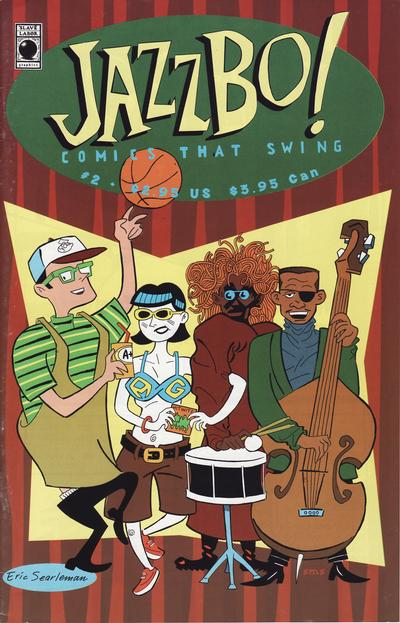 Cover for Jazzbo!: Comics That Swing (Slave Labor, 1994 series) #2