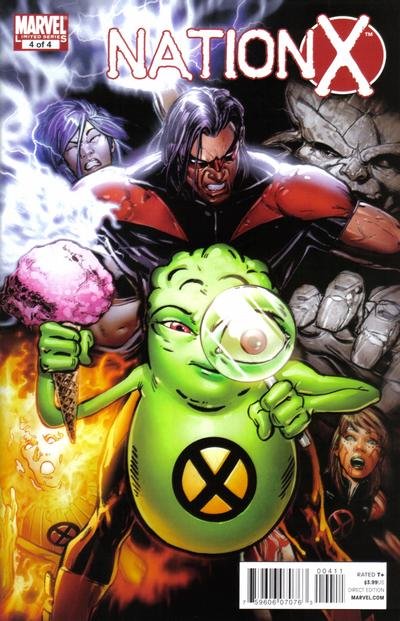 Cover for Nation X (Marvel, 2010 series) #4