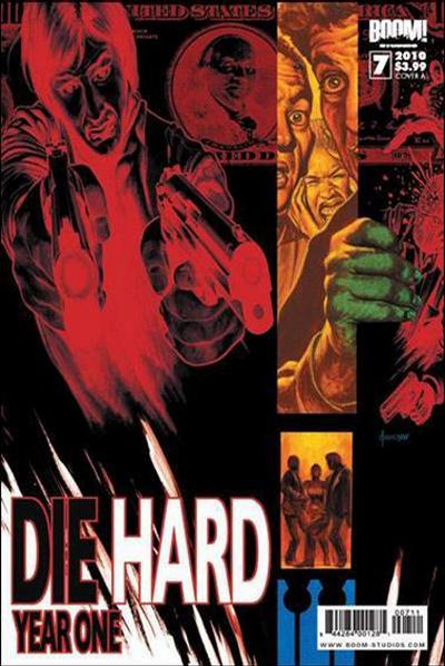 Cover for Die Hard: Year One (Boom! Studios, 2009 series) #7 [Cover A]