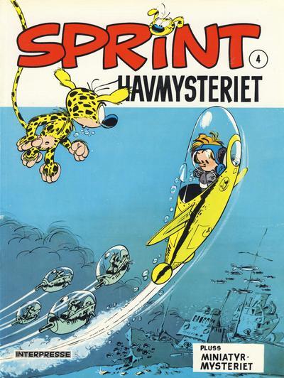 Cover for Sprint [Sprint & Co.] (Interpresse, 1977 series) #4 - Havmysteriet