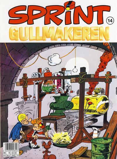 Cover for Sprint (Semic, 1986 series) #14 - Gullmakeren [2. opplag]