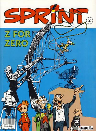 Cover for Sprint (Semic, 1986 series) #2 - Z for Zero
