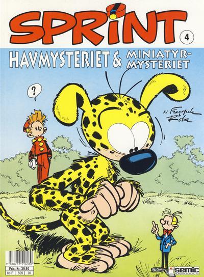 Cover for Sprint (Semic, 1986 series) #4 - Havmysteriet & miniatyrmysteriet