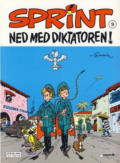 Cover for Sprint (Semic, 1986 series) #9 - Ned med diktatoren!