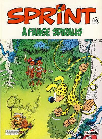 Cover for Sprint (Semic, 1986 series) #19 - Å fange Spiralis