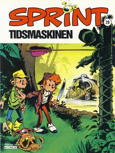 Cover for Sprint (Semic, 1986 series) #29 - Tidsmaskinen