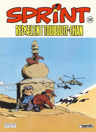 Cover for Sprint (Semic, 1986 series) #35 - Redselen i Touboutt-Chan