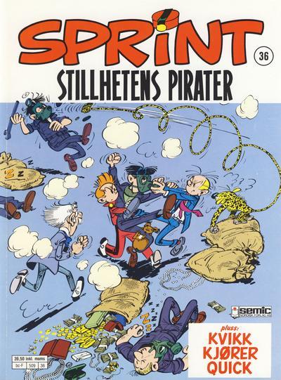 Cover for Sprint (Semic, 1986 series) #36 - Stillhetens pirater
