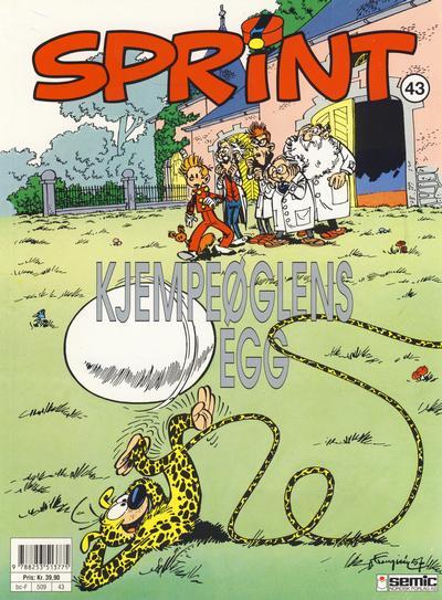 Cover for Sprint (Semic, 1986 series) #43 - Kjempeøglens egg