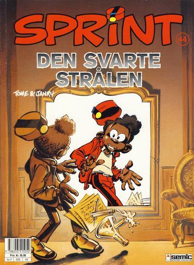 Cover for Sprint (Semic, 1986 series) #44 - Den svarte strålen