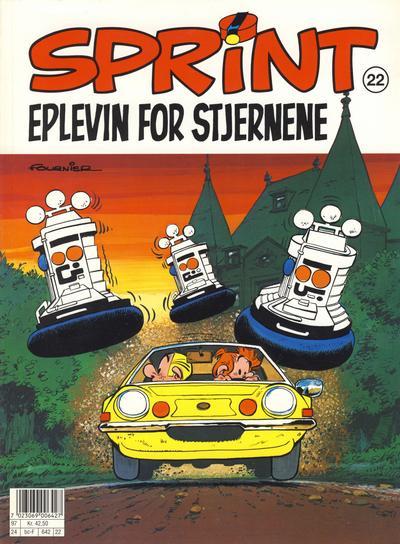 Cover for Sprint (Semic, 1986 series) #22 - Eplevin for stjernene [2. opplag]