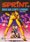 Cover for Sprint (Semic, 1986 series) #27 - Hvem kan stoppe Cyanina? [3. opplag]