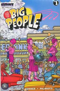 Cover Thumbnail for Here Come the Big People (Event Comics, 1997 series) #1 [Cover B]