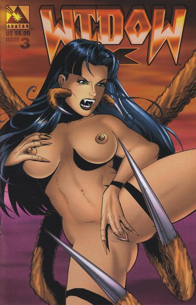 Cover for Widow X (Avatar Press, 1999 series) #3 [Regular edition]