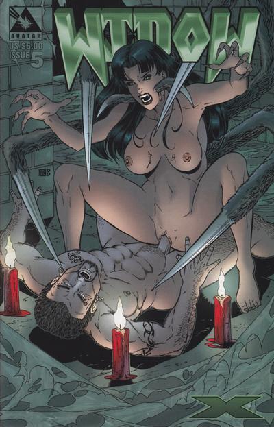 Cover for Widow X (Avatar Press, 1999 series) #5 [Regular edition]