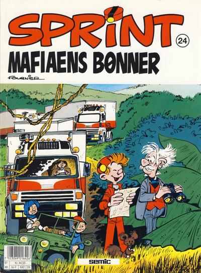 Cover for Sprint (Semic, 1986 series) #24 - Mafiaens bønner [2. opplag]