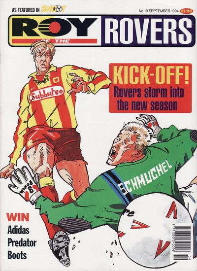 Cover for Roy of the Rovers Monthly (Fleetway Publications, 1993 series) #13