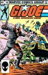 Cover Thumbnail for G.I. Joe, A Real American Hero (1982 series) #14 [Second Print]