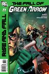 Cover Thumbnail for Green Arrow (2010 series) #31 [Mike Mayhew Cover]