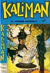 Cover for Kaliman (Editora Cinco, 1976 series) #27
