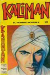 Cover for Kaliman (Editora Cinco, 1976 series) #28
