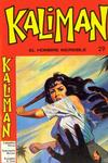 Cover for Kaliman (Editora Cinco, 1976 series) #29