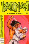 Cover for Kaliman (Editora Cinco, 1976 series) #35