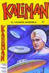 Cover for Kaliman (Editora Cinco, 1976 series) #41