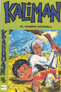 Cover Thumbnail for Kaliman (Editora Cinco, 1976 series) #7