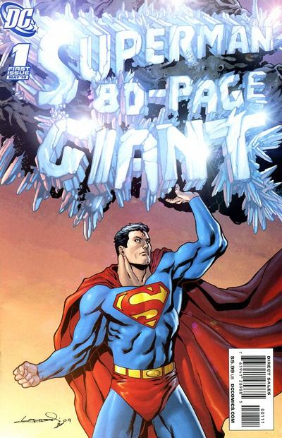 Cover for Superman 80-Page Giant (DC, 2010 series) #1