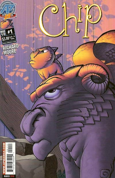 Cover for Chip (Antarctic Press, 2010 series) #1