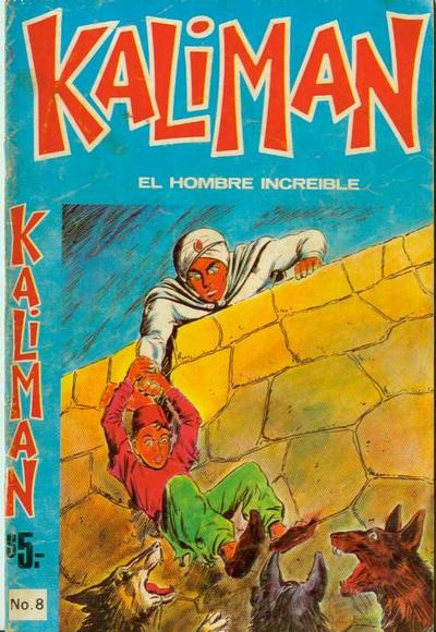 Cover for Kaliman (Editora Cinco, 1976 series) #8
