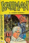 Cover for Kaliman (Editora Cinco, 1976 series) #1