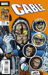Cover for Cable (Marvel, 2008 series) #6 [Monkey Variant]